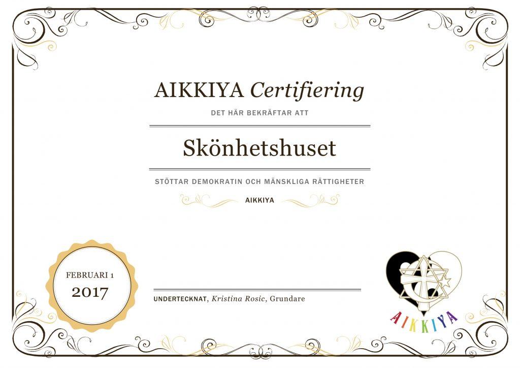 Aikkiya Certificate